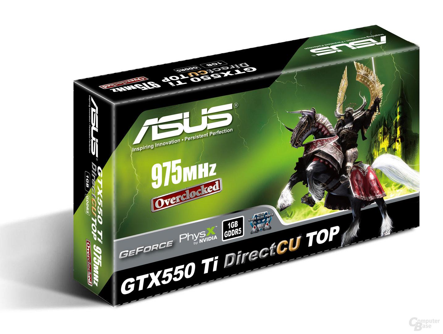 ASUS GTX 550 Ti DirectCU TOP
