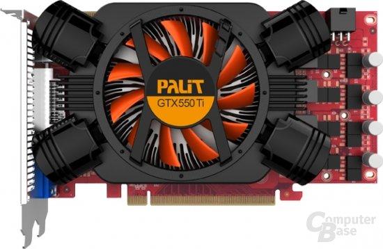 Palit GTX 550 Ti Sonic