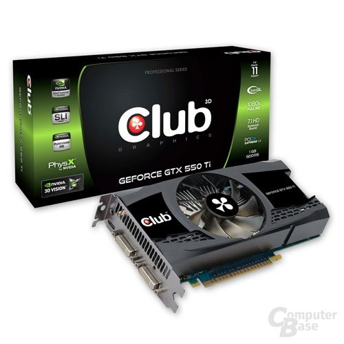 Club 3D GTX 550Ti