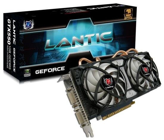 Lantic GeForce GTX 550 Ti