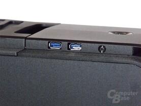 SilverStone TJ11 – USB 3.0 Ports und Reset-Button