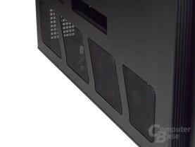 SilverStone TJ11 – Seitenansicht links Detail