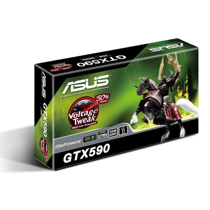 Asus ENGTX590 –  GeForce GTX 590