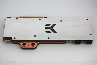 EK-FC6990 (Rückseite)  – Wasserkühler für Radeon HD 6990