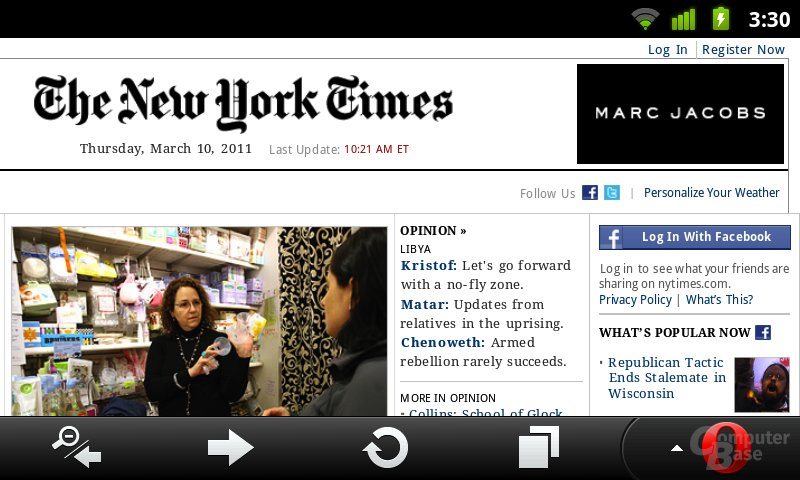 NYTimes [Mobile, Android-landscapge]
