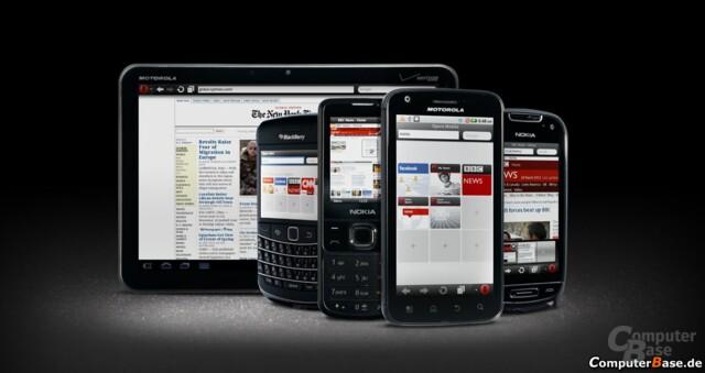 Opera Mobile 11 und Opera Mini 6