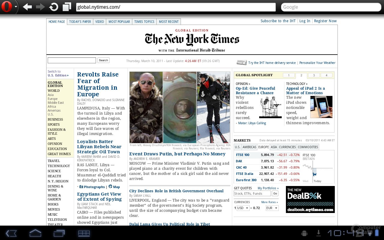 Tablet, NYTimes [Android]