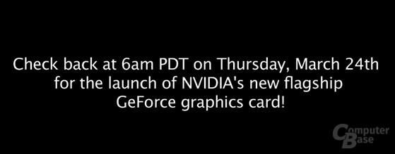 Nvidia bestätigt Launch-Termin