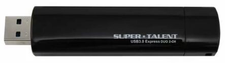Super Talent USB 3.0 Express Duo 2CH