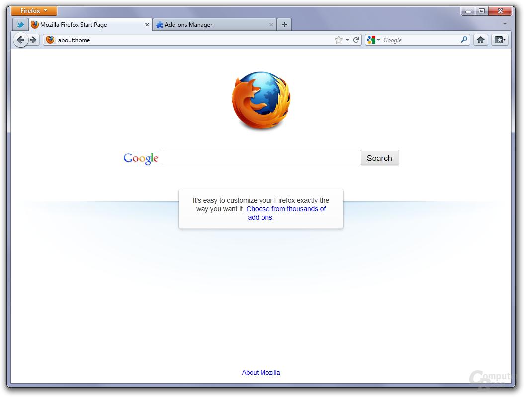 Firefox 4 on Windows