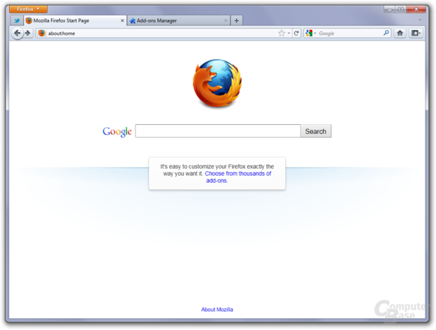 Firefox 4 on Windows