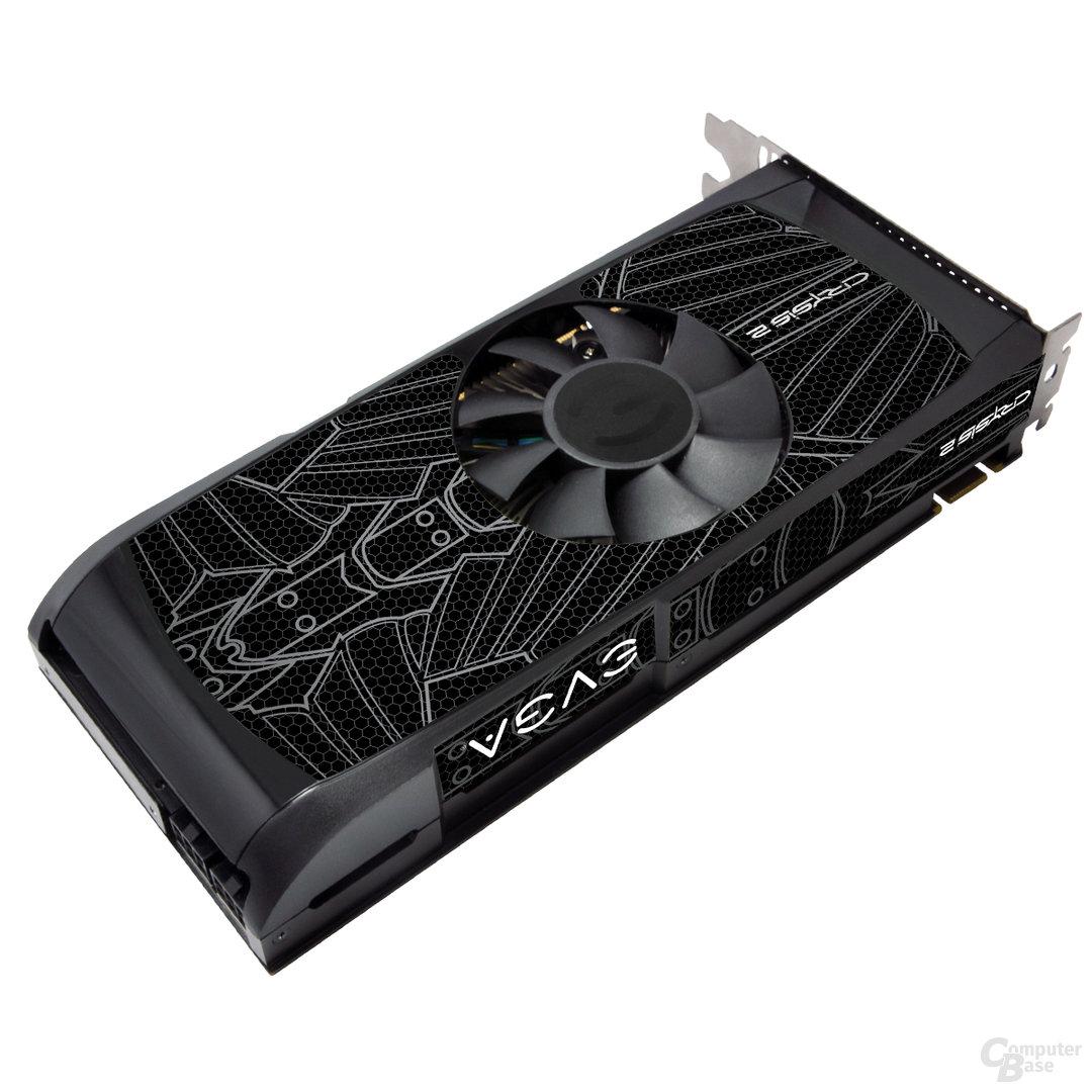 EVGA GeForce GTX 560 Ti Maximum Graphics Edition Crysis 2