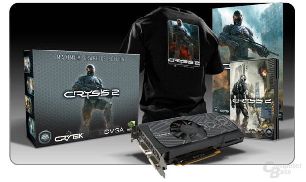 EVGA GeForce GTX 560 Ti Maximum Graphics Edition Crysis 2
