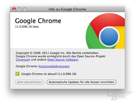 Chrome 11 Beta