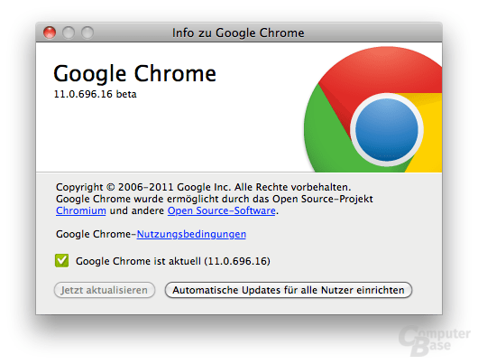Chrome 11 Beta