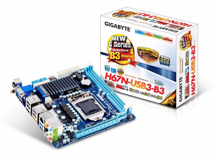 Gigabyte GA-H67N-USB3-B3