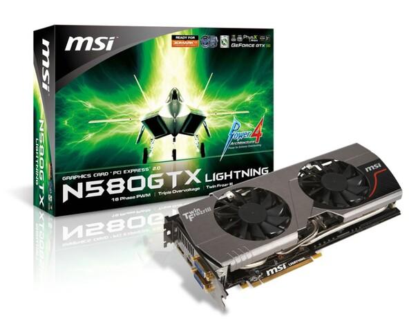 MSI N580 GTX Lightning