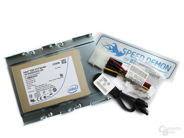 SSD 510 mit Zubehör