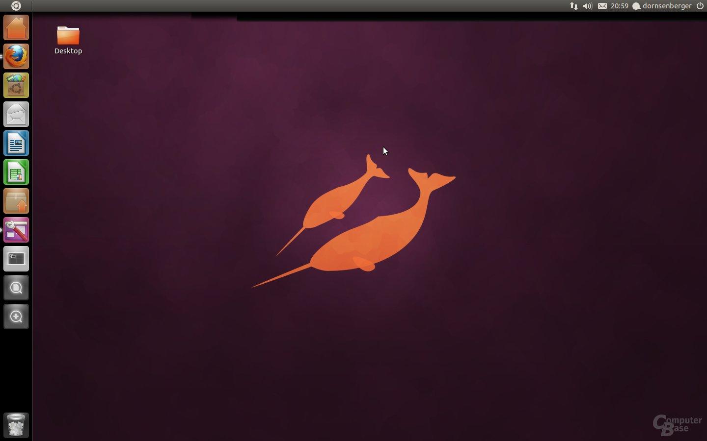 Ubuntu 11.04 Beta 1 – Unity-Desktop