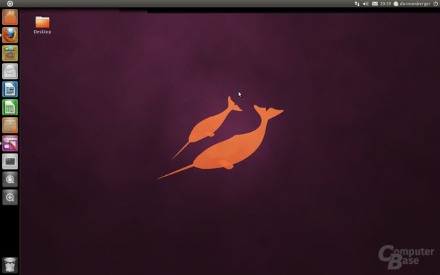 Ubuntu 11.04 Beta 1 – Unity-Desktop