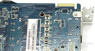 Radeon HD 6790 CF-Anschluss