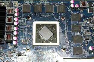 Radeon HD 6790 GPU und Speicher