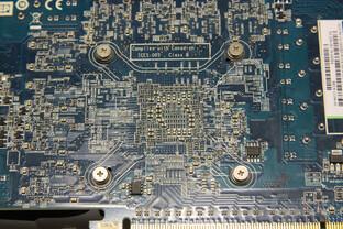 Radeon HD 6790 GPU-Rückseite