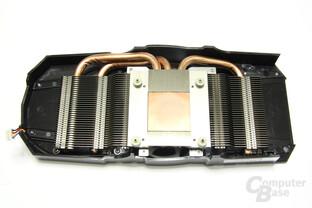 Radeon HD 6790 Kühlerrückseite