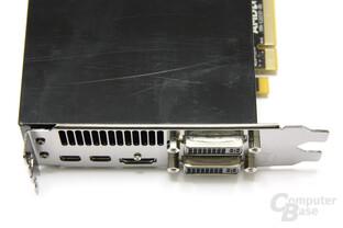 Radeon HD 6790 Anschlüsse