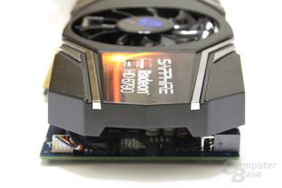 Radeon HD 6790 von hinten