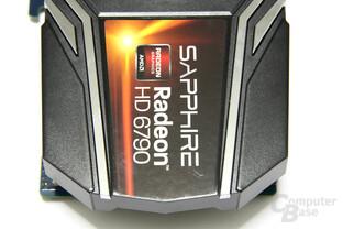 Radeon HD 6790 von oben