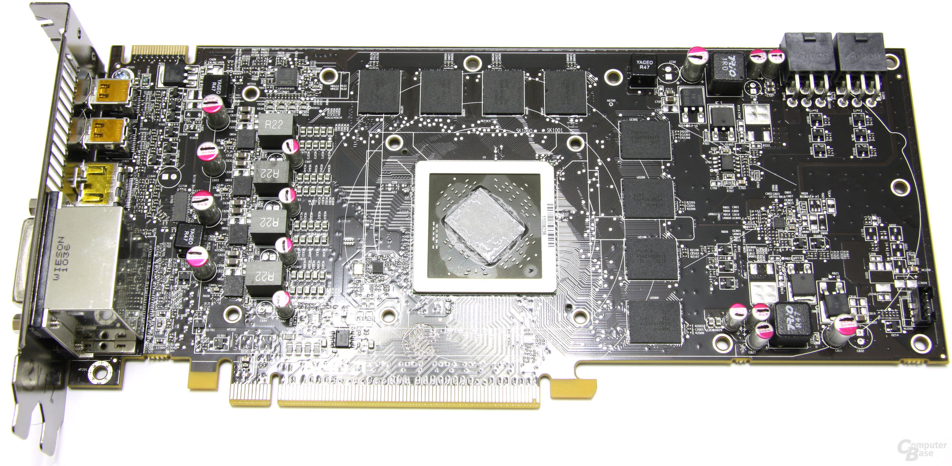 Radeon HD 6790 ohne Kühler