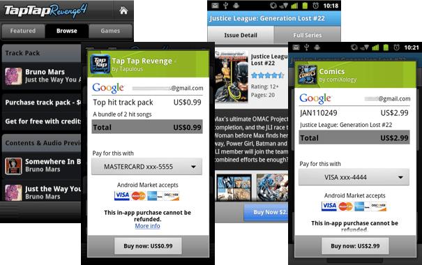 In-App-Kauf für Android