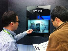 Transparentes 22-Zoll-LCD von Samsung