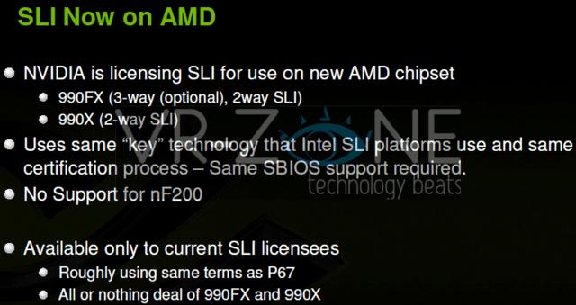 SLI kehrt auf AMD-Plattformen zurück