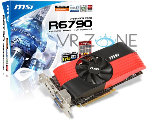 MSI Radeon HD 6790