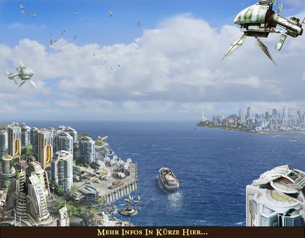 """Ubisoft: Ausblick auf """"Anno 2070"""""""