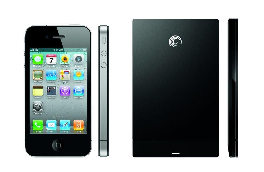 Größenvergleich mit dem iPhone 4