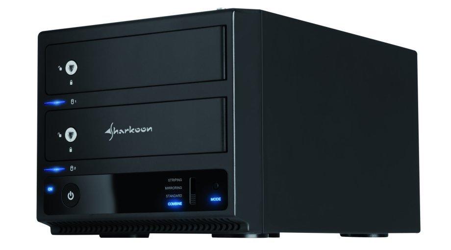 Sharkoon 2-Bay RAID Box