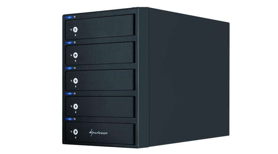 Sharkoon 5-Bay RAID Box