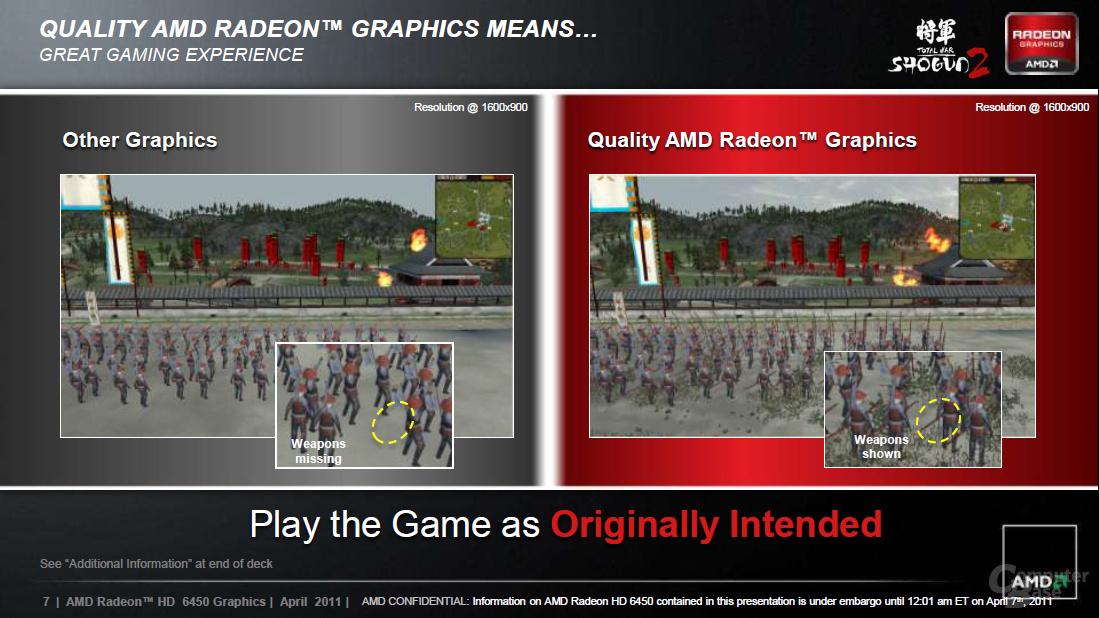 AMD Radeon HD 6450 Präsentation