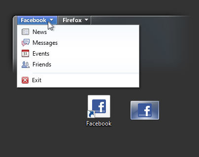 Firefox 5 – Taskbar Web App
