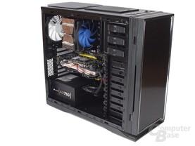 NZXT H2 – Innenraum mit Hardware
