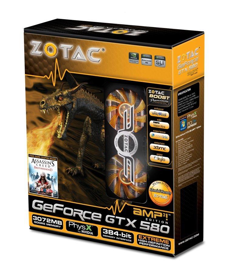 GeForce GTX 580 AMP²! Edition