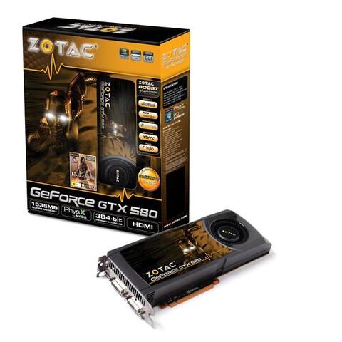 ZOTAC GTX580 Grafikkarte