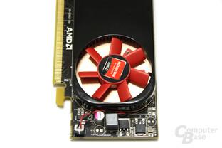 Radeon HD 6450 von oben
