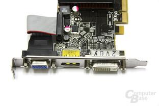 Radeon HD 6450 Anschlüsse