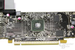 Radeon HD 6450 Chip und Speicher