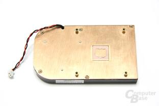 Radeon HD 6450 Kühlerrückseite