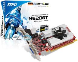 MSI GeForce GT 520